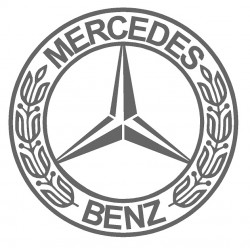 mercedes old logo