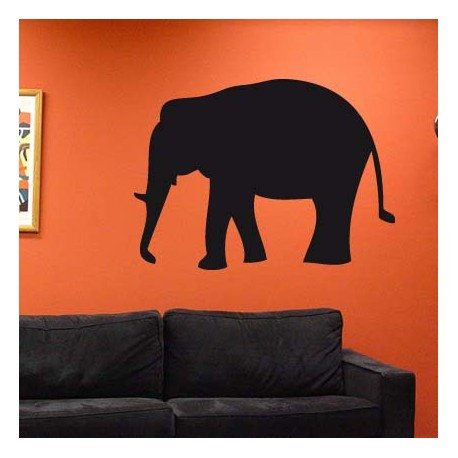 d co int rieure elephant sticker. Black Bedroom Furniture Sets. Home Design Ideas