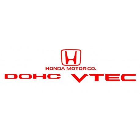 honda vtec sticker deco Honda Dohc Vtec Logo
